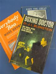 Sale 8419A - Lot 84 - Sports 1912 - a box containing Sport & Pastime in Australia 1912; t/w 19 other books