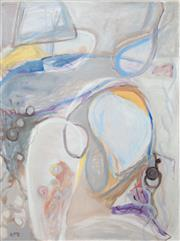 Sale 8471H - Lot 3 - Wendy McDonald - Afternoon, Lakeside 100 x 75cm
