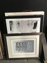 Sale 8759 - Lot 2061 - Decorative Prints by Various Artists incl Cyclotops; Jacquie Kennedy with Jr. framed/various sizes