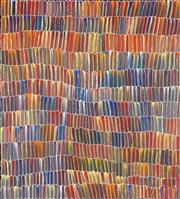 Sale 8808 - Lot 501 - Jeannie Mills Pwerle (1965 - ) - Bush Yam 77 x 68cm (stretched and ready to hang)