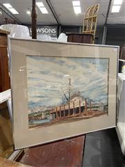 Sale 9058 - Lot 2064 - Artist Unknown, Ulladulla, watercolour, frame: 51 x 63 cm, signed lower right