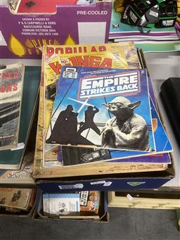 Sale 9101 - Lot 2237 - Box of Comics & Books incl Konga, Witchblade, Star Wars etc