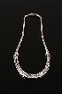 Sale 3701 - Lot 468 - DIAMOND SET NECKLACE, MOUNTED IN 18CT WHITE GOLD.