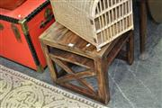 Sale 8046 - Lot 1085 - Tiered Timber Occasional Table