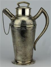 Sale 8079 - Lot 37 - Chinese Silver Republic Export Ware Cocktail Shaker