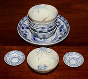 Sale 8127A - Lot 18 - A Selection of Chinese Blue and White Wares,