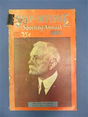 Sale 8419A - Lot 85 - Self Defense 1929 - a box of 25 books, plus Sporting Annuals for 1929 & 1930