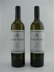Sale 8439W - Lot 715 - 2x 2004 Moss Wood Semillon, Margaret River