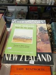 Sale 8563T - Lot 2411 - New Zealand Art Books incl Pacific Example