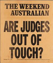 Sale 8844 - Lot 40 - - Are Judges Out of Touch?