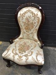 Sale 9017 - Lot 1078 - Timber Bedroom Chair (H91 x W60 x D66cm)