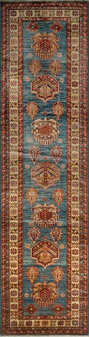 Sale 8406C - Lot 80 - Afghan Super Kazak 320cm x 82cm