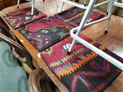 Sale 8740 - Lot 1611 - Collection of Four Kilim Cushion Covers (43 x 43cm)