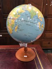 Sale 8782 - Lot 1706 - Plastic Globe on Stand