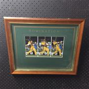 Sale 8805A - Lot 897 - Domination Mark Waugh, framed