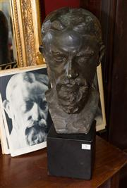 Sale 7962B - Lot 9 - A. Rodin, reproduction of the original bust of George Bernard Shaw by the Philadelphia Museum of Art