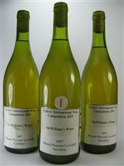 Sale 8238B - Lot 28 - 3x 1997 McWilliams Mount Pleasant Lovedale Single Vineyard Semillon, Hunter Valley