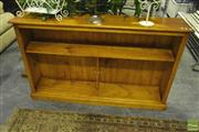 Sale 8227 - Lot 1078 - Timber Open Bookcase