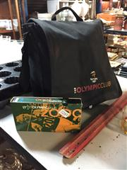 Sale 8659 - Lot 2245 - Olympic Club Bag & Contents