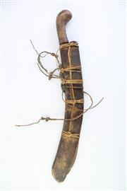Sale 8823 - Lot 67 - Early Pacific Islands Knife In Sheath
