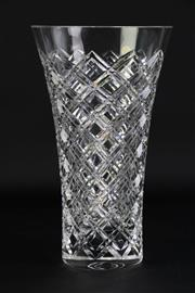 Sale 8894 - Lot 85 - A Peill (German) Lead Crystal Vase (H 30cm Dia 18cm)