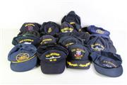 Sale 8952M - Lot 665 - Collection Of US Naval Caps Incl USS Independance