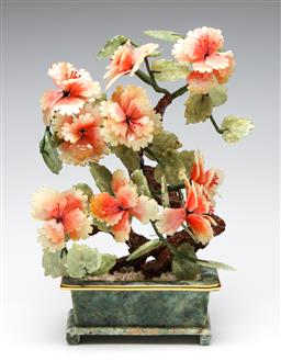Sale 9255S - Lot 90 - A Chinese stone potted tree Height 32cm
