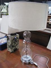 Sale 7932A - Lot 1162 - Glass Table Lamp