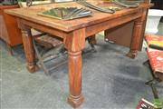 Sale 8262 - Lot 1033A - Timber Dining Table