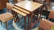 Sale 8383 - Lot 1031 - G-Plan Teak Nest of Three Tables