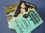 Sale 8419A - Lot 87 - Fighters - a box of 18 books including Fighters of the North, The Home of Boxing by Bettinson, etc