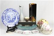 Sale 8436 - Lot 28 - Carlton Ware Dish with Other Ceramics incl. Tuscan Tea Wares