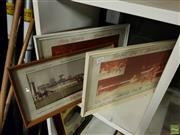 Sale 8609 - Lot 2076 - Three Horse Racing Framed Photos