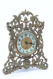Sale 8681 - Lot 58 - An Early 20th Century Mantle Clock