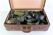 Sale 8952M - Lot 693 - Suitcase Of Military Fabric Belts