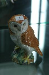 Sale 7877 - Lot 8 - Beswick Figure of a Barn Owl