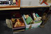 Sale 8405 - Lot 2330A - Records, Books & Light Fitting