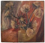 Sale 8497A - Lot 5074 - Attributed to Nancy Moffatt (active 1930s) - Still Life 59 x 60.5cm