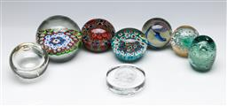 Sale 9156 - Lot 288 - Collection of Millefiori & Other Paperweights