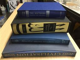 Sale 9152 - Lot 2447 - 4 Volumes of Folio Society Books incl.Stark, F. The Southern Gates of Arabia; Lord Kinross The Ottoman Empire; Morris, J. The V...