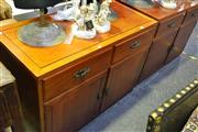 Sale 8031 - Lot 1046 - Sideboard w 2 Doors & 2 Drawers