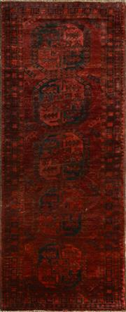 Sale 8406C - Lot 81 - Afghan Antique Qunduzi 245cm x 100cm