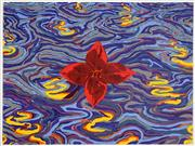 Sale 8592A - Lot 5076 - Victor Majzner (1945 - ) - Flower and Water 56 x 76cm (frame size: 74 x 94cm)
