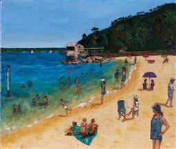 Sale 9109A - Lot 5005 - Stanley Perl (1942 - ) A Summers Day acrylic on canvas 50.5 x 61 cm signed and titled verso