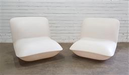 Sale 9134 - Lot 1076 - Pair of Pillow chairs by Stefano Giovannoni (h:73 x w:78 x d:76cm)