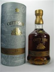 Sale 8201A - Lot 540 - 1x Cutty Sark 25YO Blended Scots Whisky - in canister