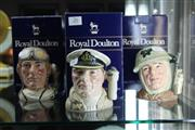 Sale 8360 - Lot 26 - Royal Doulton The Sailor, The Airman & The Soldier Character Mugs In Boxes