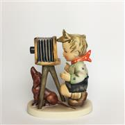Sale 8456B - Lot 70 - Hummel Figure of a Boy with Camera