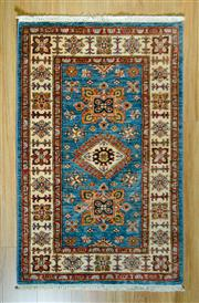 Sale 8693C - Lot 87 - Afghan Super Kazak 126cm x 77cm