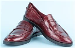 Sale 9091F - Lot 245 - A PAIR OF CHARLES AND KEITH LOAFERS, in Burgandy, Size 39 (unworn)